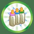 Trophée Triple jeu (Avoir un Sim donnant naissance à des triplés)