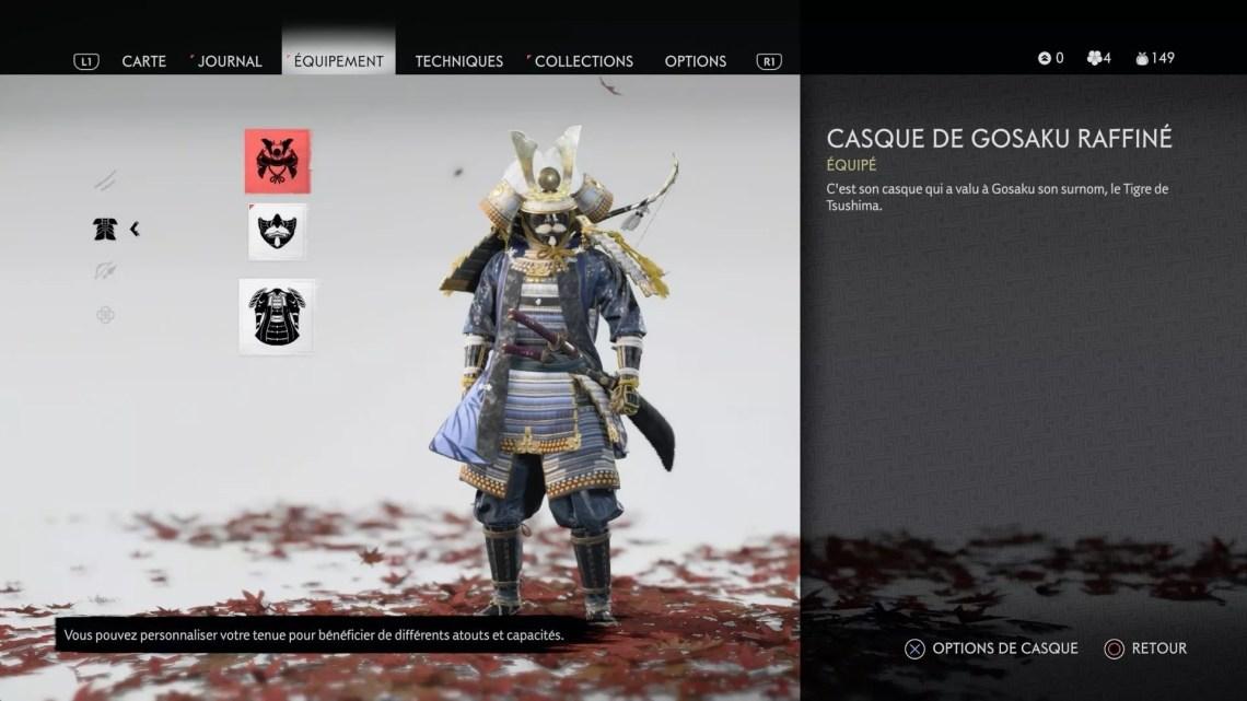 Ghost of Tsushima test et avis sur PS4