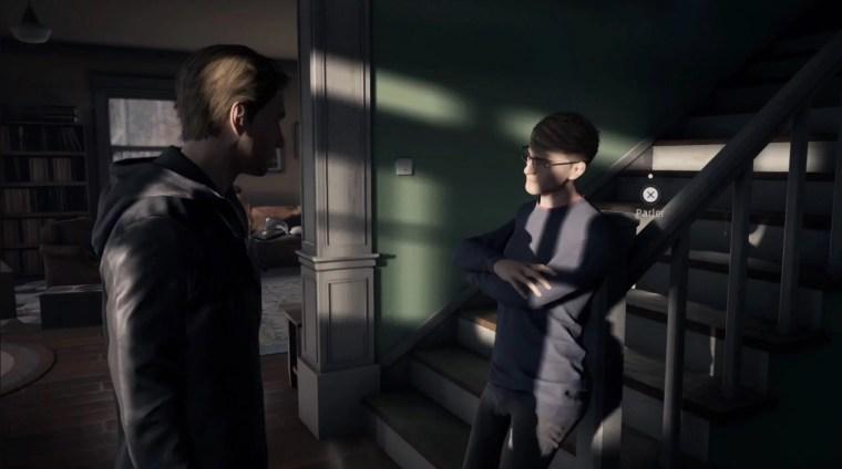 test de Twin Mirror réalisé sur PlayStation 4