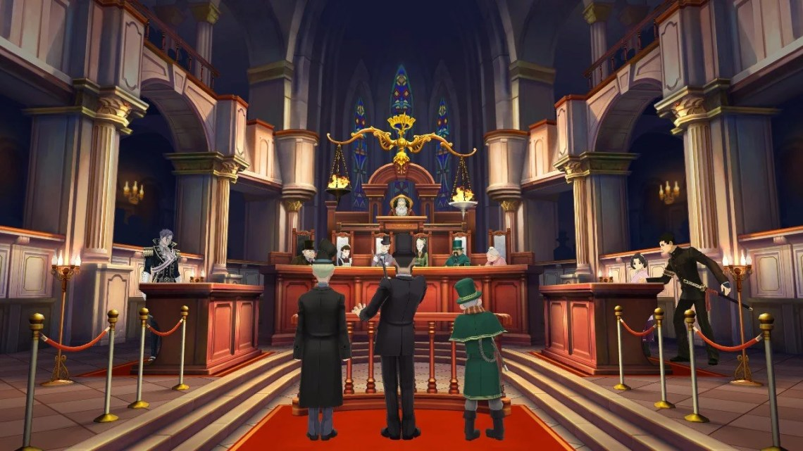 great ace attorney chronicles pc