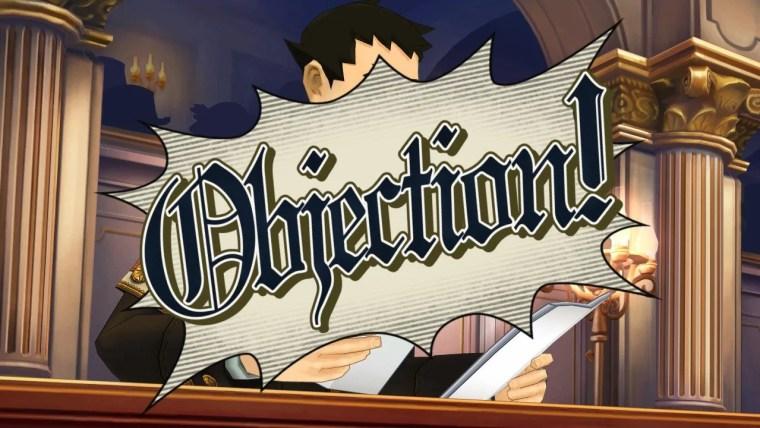 """Le fameux """"Objection"""" dans le dernier Phoenix Wright"""