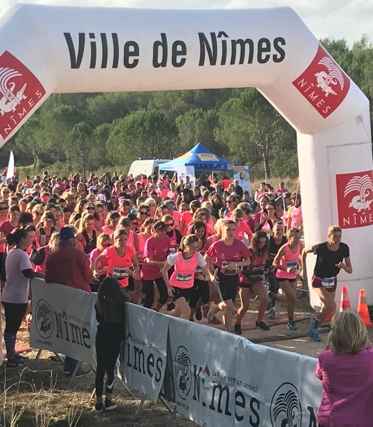 Mélanie Domergue course