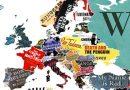 La vuelta al mundo en 144 libros: un mapamundi hecho con portadas