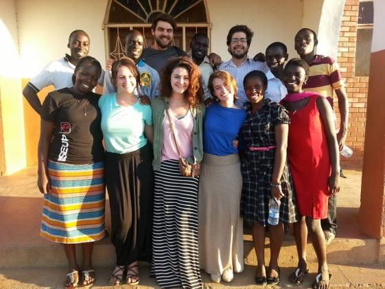 JP and Uganda Team