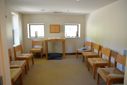 The prayer chapel, across from the lounge.