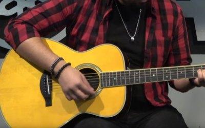 Conoce la guitarra Yamaha TransAcoustic con efectos incluidos