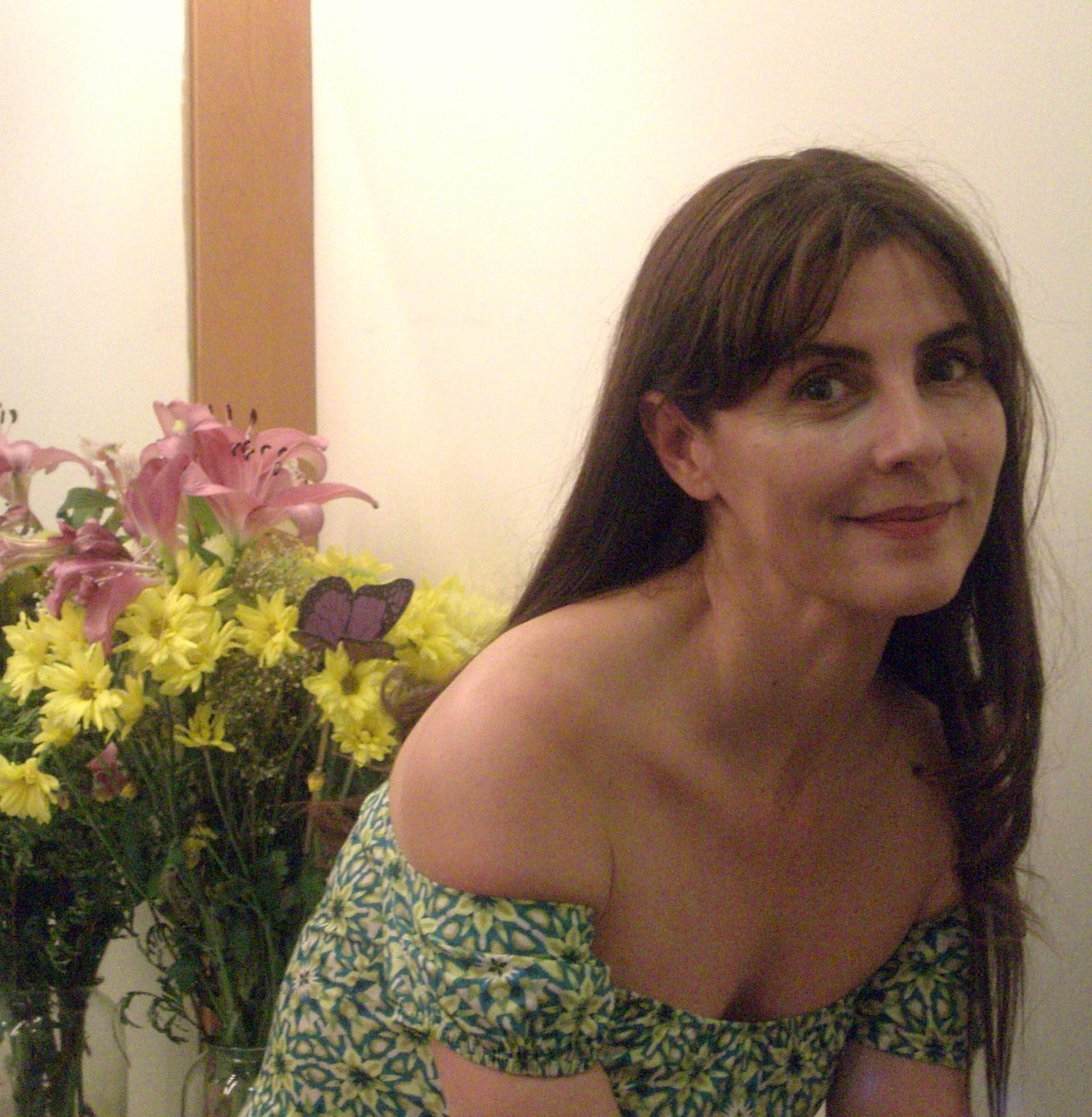 Ana Fernández en su camerino del Teatro Español