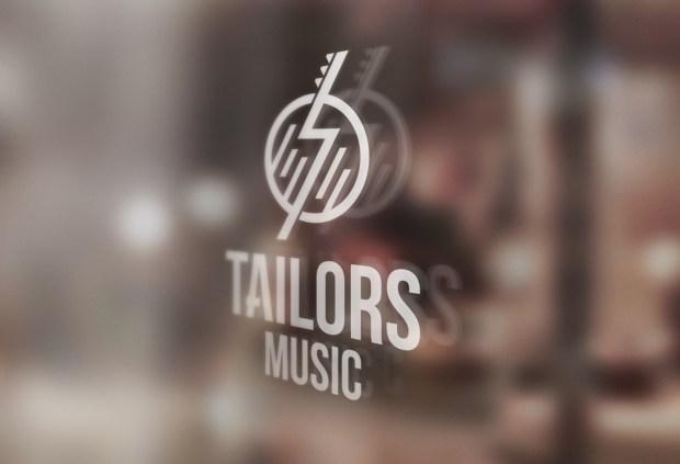 Diseño de la identidad corporativa de un equipo de productores musicales.
