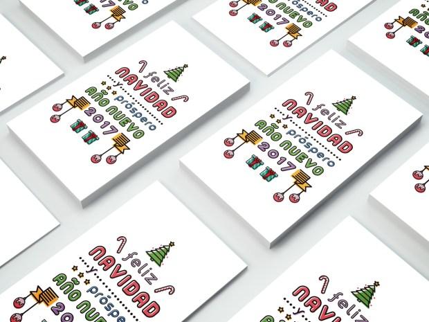 Felicitación de Navidad para mis clientes