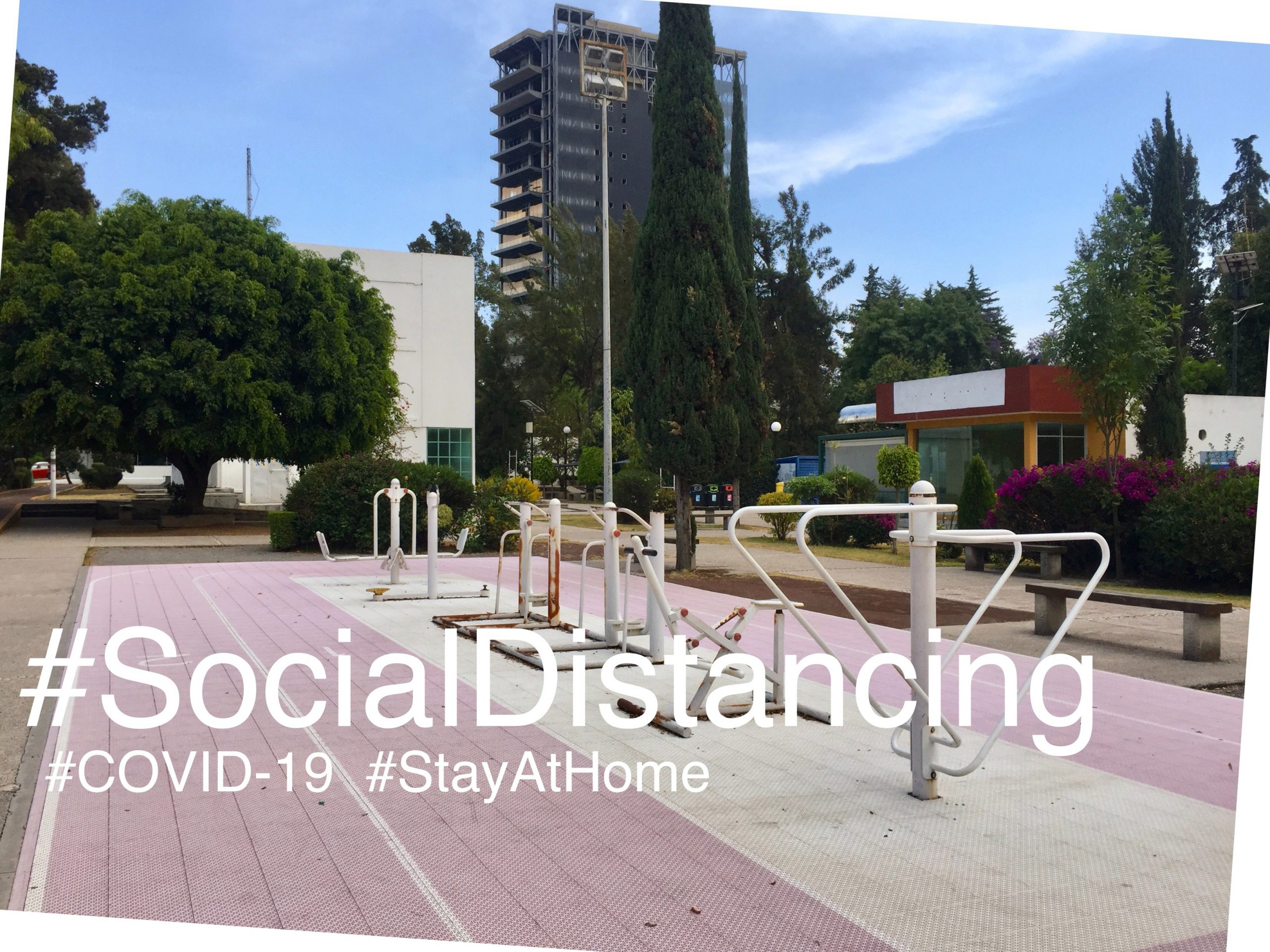 "Something that  everybody can do during Coronavirus, ""Social distancing"""