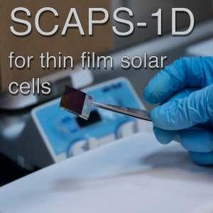 Simulación de celdas solares mediante SCAPS-1D