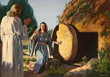Mary Magdalene at Jesus' Tomb