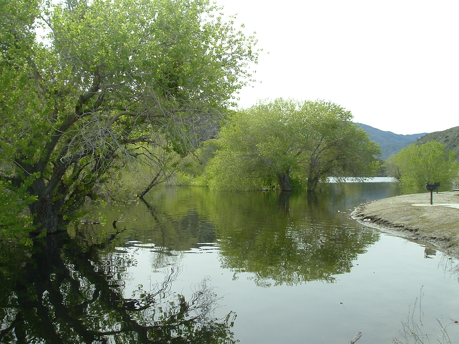 He leads me beside the still waters