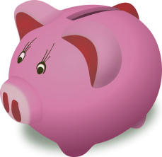 piggybank_pink_money_clipart