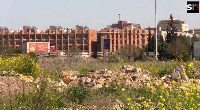 Escombros en el Puerto de Sevilla