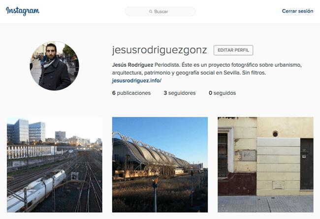 Urbanismo, geografía social, patrimonio y vivienda en Sevilla: un proyecto fotográfico de Jesús Rodríguez en Instagram