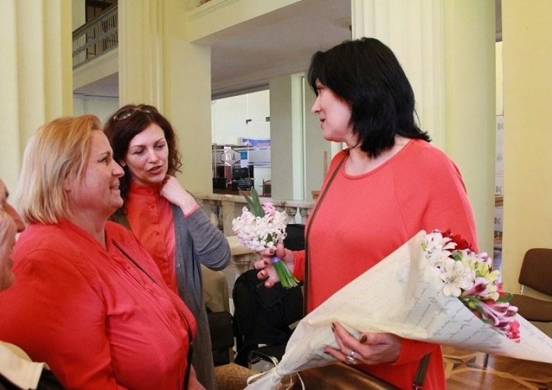 В Киевской мэрии открылась выставка картин Константина и Светланы Шаповаловых