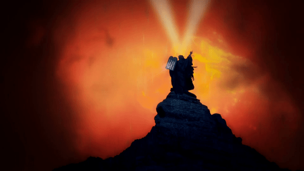 prophet-moses-on-the-mountain-holding-the-ten-commandments-and-the-pillar-of-fire_s7-phf8__F0013