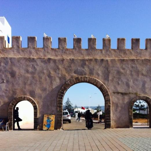 medieval walls, Essaouira, Morocco