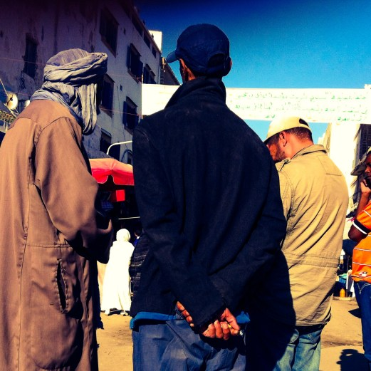 market bargaining. Essaouira, Morocco
