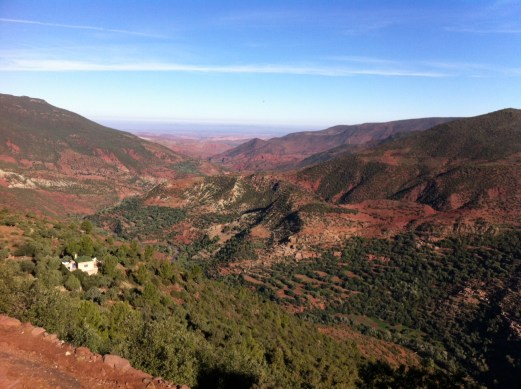 Atlas Mountains view
