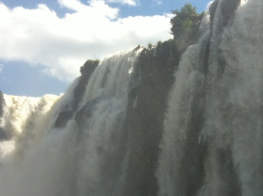 Iguazu close up