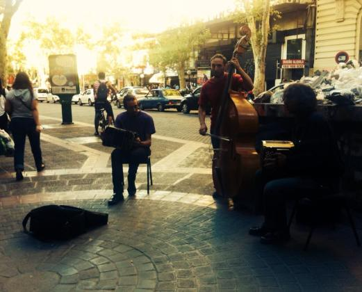 Jam session downtown Mendoza