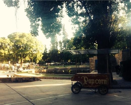 Main square Mendoza