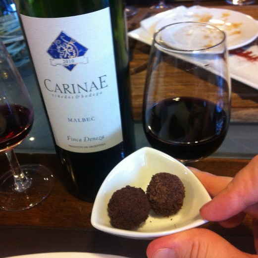 Anuva malbec and chocolate - Buenos Aires