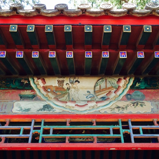 Summer Palace painting detail 2