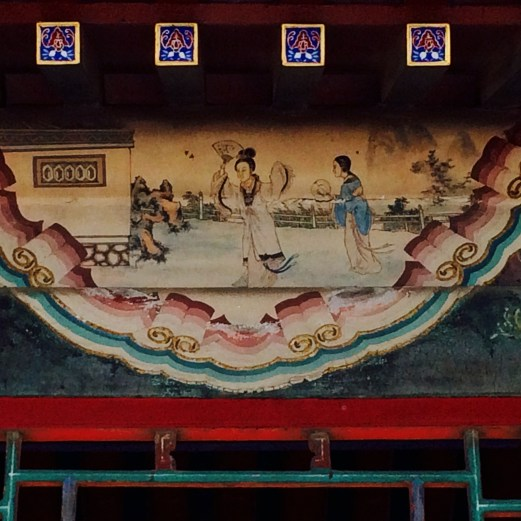 Summer Palace painting detail