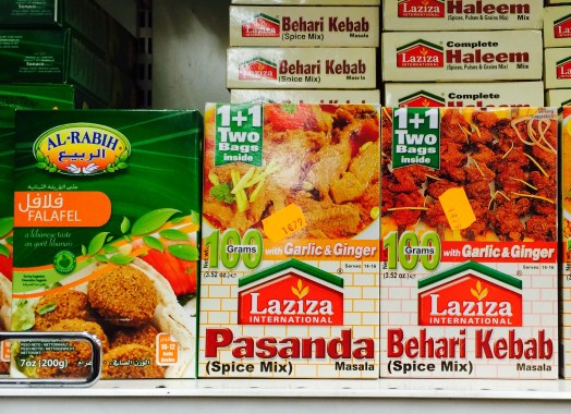 Indian food supplies - la Chapelle