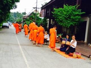 Morning alms - Luang Prabang