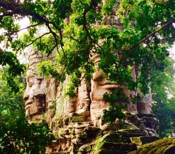 Angkor hidden gate