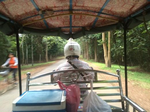 Cambodian tuk tuk