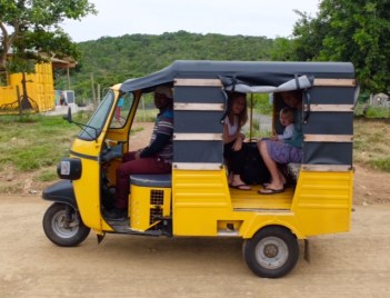 East Chintsa Soup Kitchen tuktuk