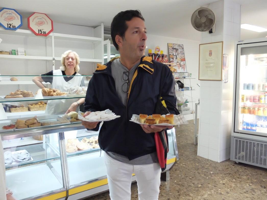 Ibiza food tour bakery