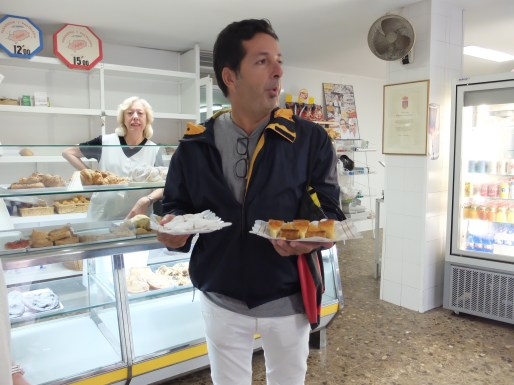 Ibiza food tour bakery