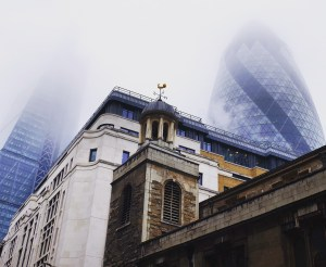 City of London with the Gherkin