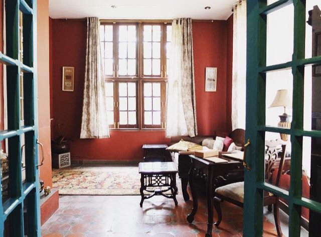 Ranjit's Svaasa suite lounge