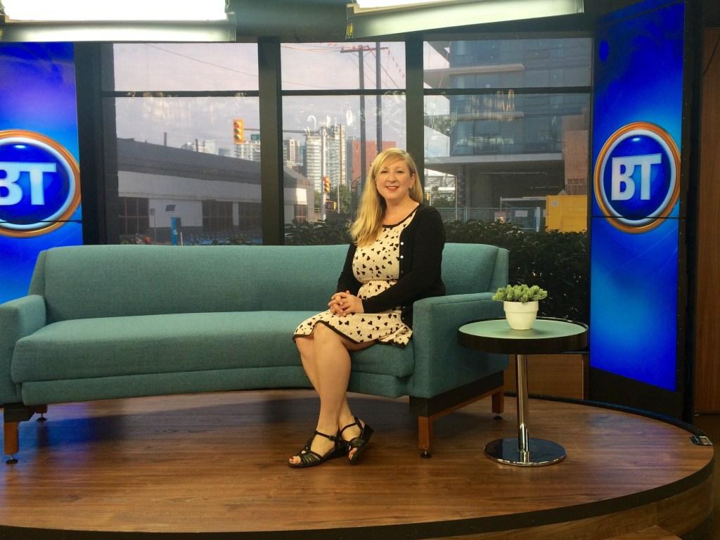 Lily Heise on Breakfast TV