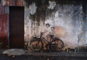 Bicylcle-Street-Art-George-Town-Penang