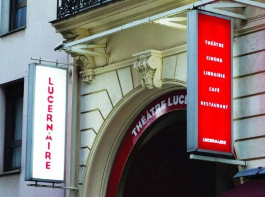 Theatre Lucernaire exterior