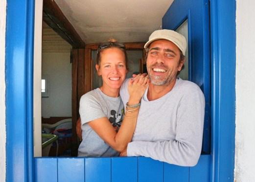 Baba Houlakia Banu and Stefanos