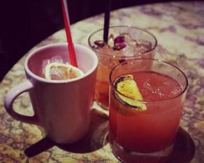Cocktails at Lipstick Bar