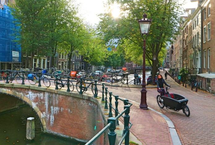 Romantic tour Amsterdam proposal bridge 2