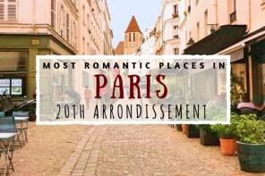 Romantic Paris 20th arrondissement