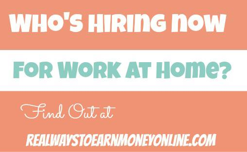 Real Ways To Earn Money Online Job Leads (Work From Home