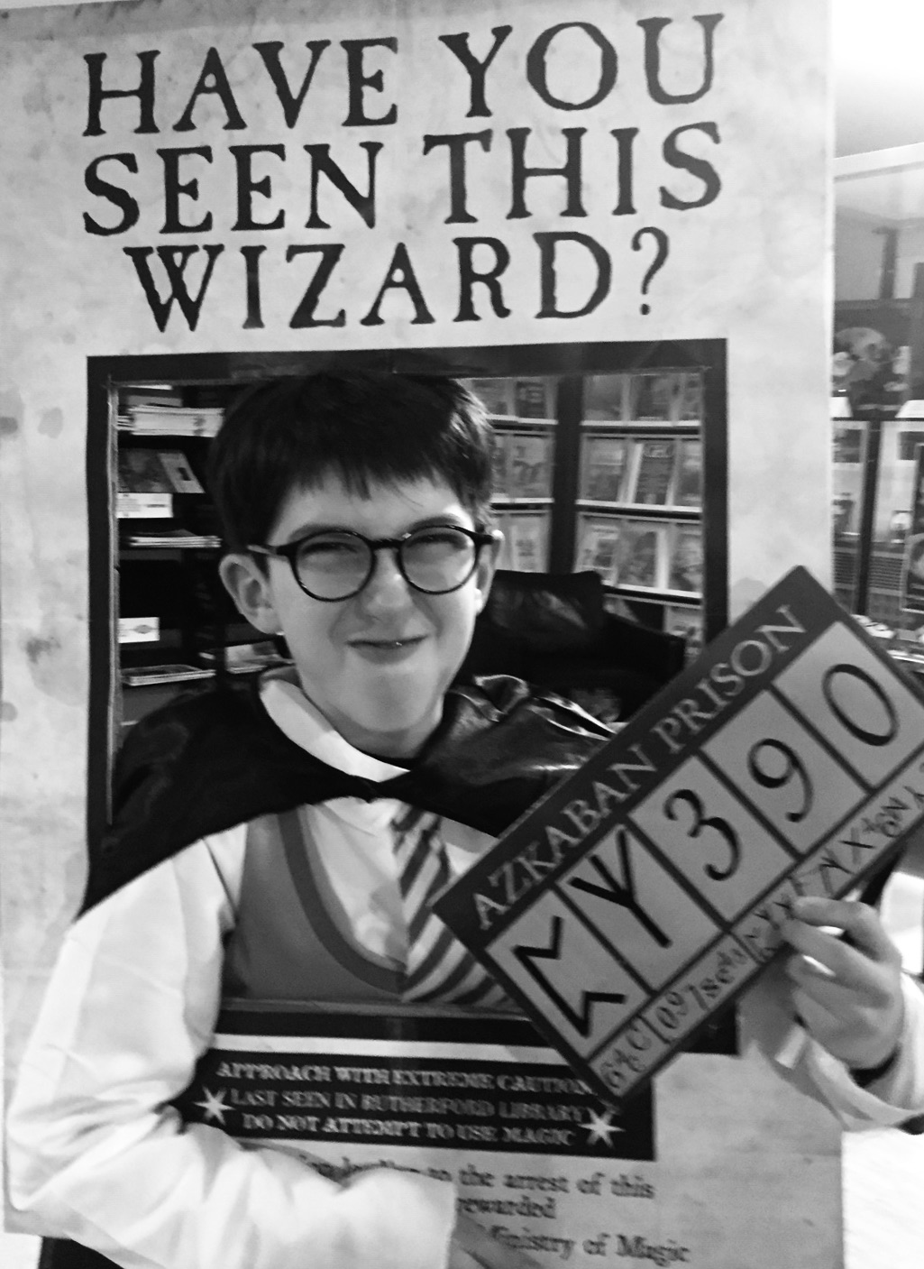 Have you seen this wizard ? Murder Party Harry Potter - Médiathèque de Hendaye