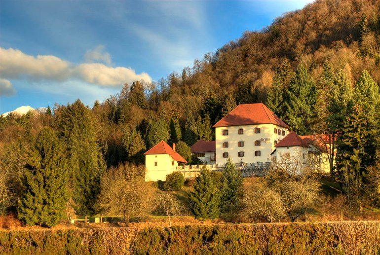 Strmol Castle in Slovenia